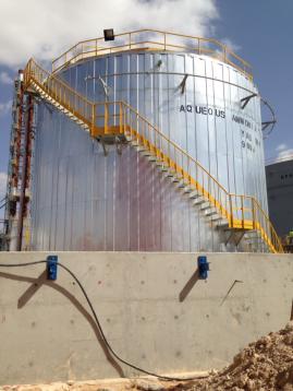 Ammonia Tank